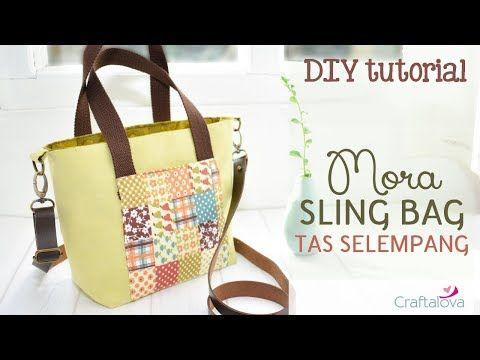 Diy Tutorial Cl 01 Cara Membuat Tas Selempang How To Make Sling Bag Youtube Tas Selempang Tas Pola Tas