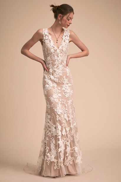 Nude/ivory Liesel Gown | BHLDN