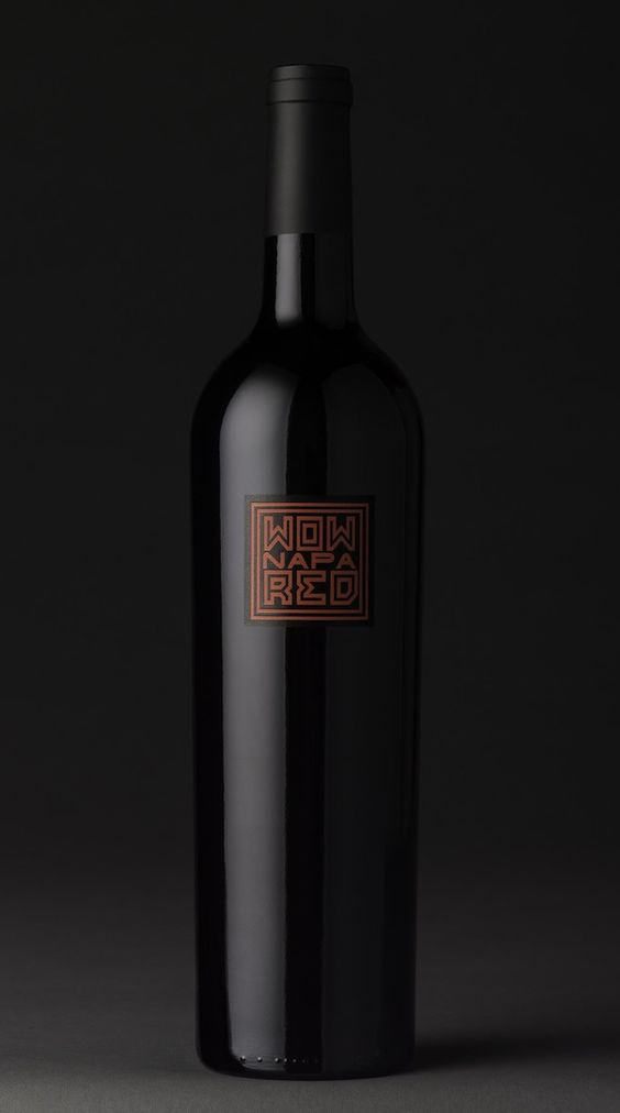 Icon Design / PROJECTS / WOW Napa #wine