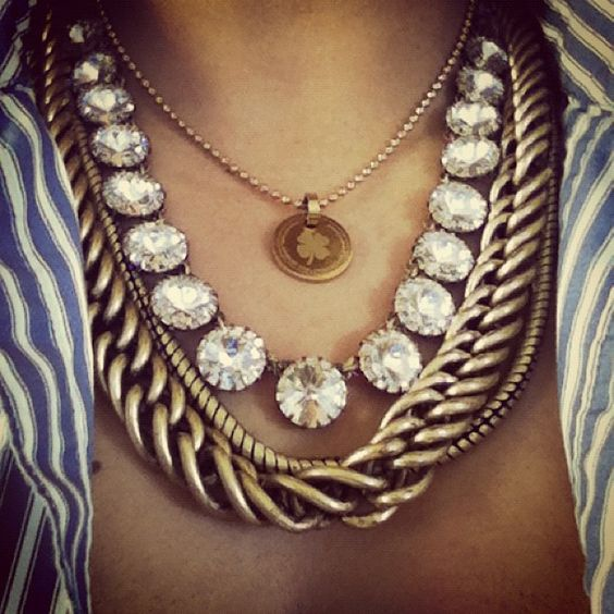 Love all the necklaces