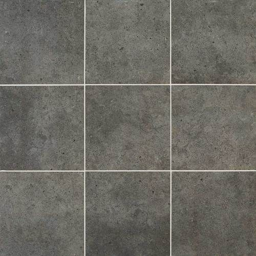 Industrial Park Collection Charcoal Black Porcelain 12x12 In 2020 Flooring Industrial Park Tiles