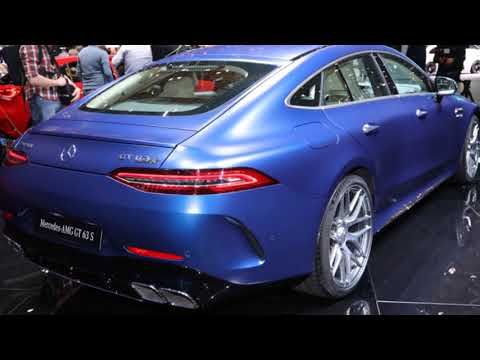 Mercedes Benz Amg Gts 63 4 Door Coupe 2019 With Images