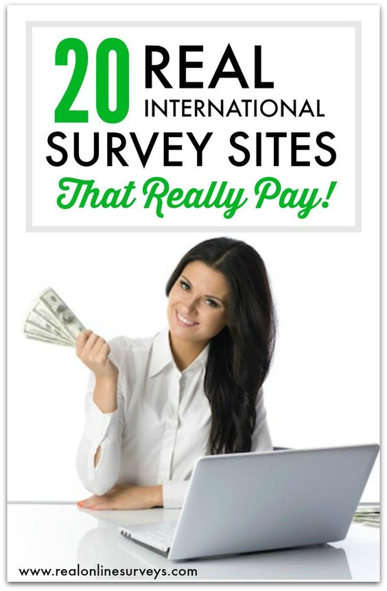 20 International Paid Surveys for Making Money Online | Paid Surveys ...