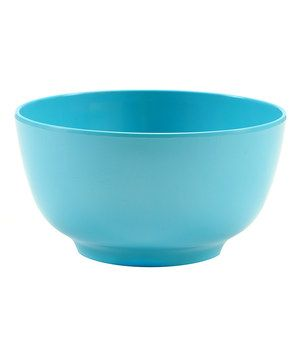 This Turquoise Bowl - Set of Four by French Bull is perfect! #zulilyfinds