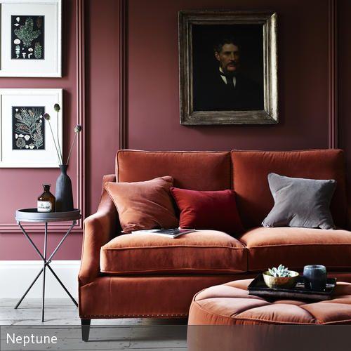 Mit der richtigen Farb- und Stoffauswahl lassen sich tolle Gestaltungsideen fürs Wohnzimmer realisieren. Besonders gedeckte Farben erzeugen eine natürliche…