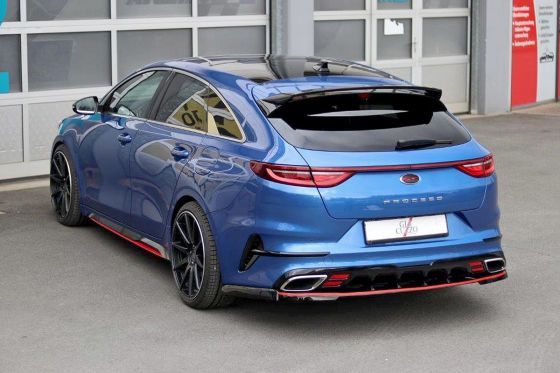 Kia Proceed Gt Giacuzzo Tuning Flap Exhaust For The Kia Proceed Gt Exhaust Flap Giacuzzo Gt Kia Proceed Tuning Peugeot Bmw Volvo