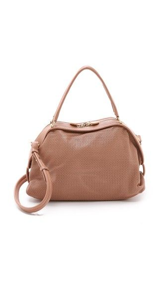 See by Chloe Bluebell Perforated Satchel