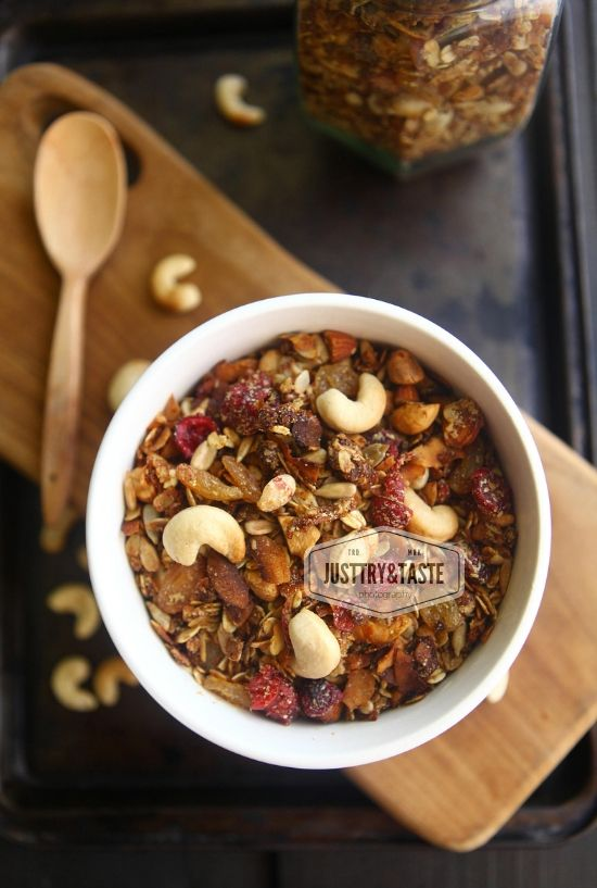Homemade Granola Recipe Homemade Granola Recipes Banana Granola