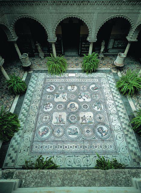 HISPANIA ROMANA Mosaico Romano - Casa Palacio Condesa de Lebrija, Seville, Spain