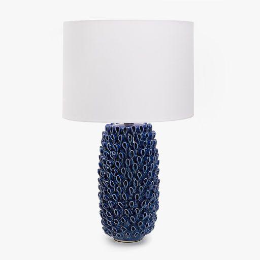 Imagen Del Producto Lampara Ceramica Forma Coral Azul Lamparas De Ceramica Zara Home Lampara