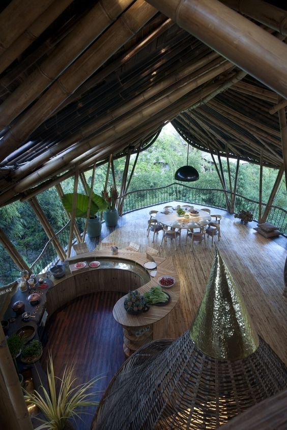 Home Made From Bamboo: