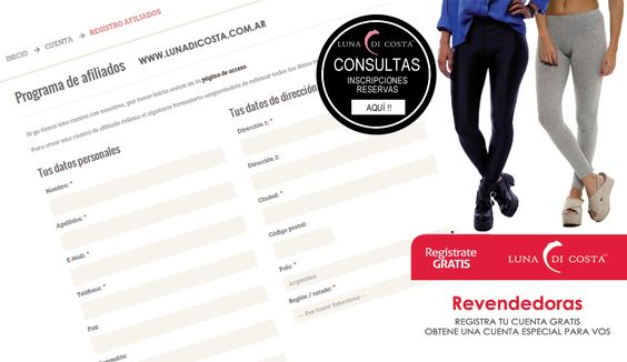 Diseño de banner grafico para campaña publicitaria Luna Di Costa