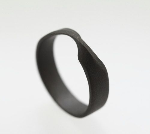 This is so cool. Mobius Ring Titanium Rings for Men Unique by jewelrybyjohan $344.67