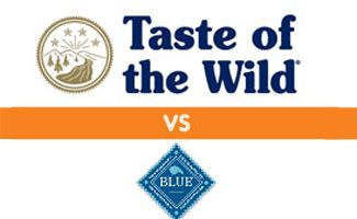 Trying to pick the healthiest dog food for your pup? We compare two high-quality options made of natural ingredients, Taste of the Wild vs Blue Buffalo.