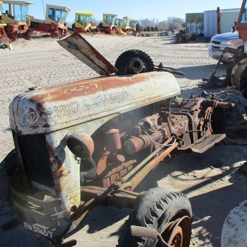 This Ford 8n Tractor Just Arrived To Be Salvaged For Parts At Our