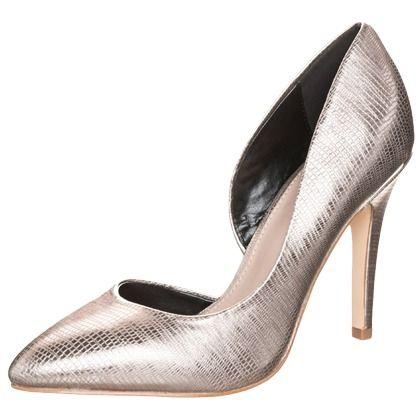 Escarpins argentés sublimes !  75€ Ils sont ici : http://stylefru.it/s895364 #argente