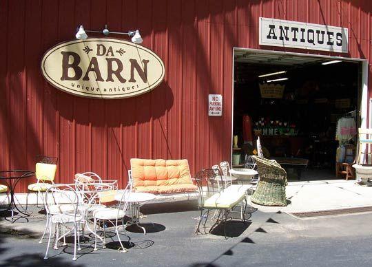Da Barn. New Buffalo, MI. A scavenger's paradise.