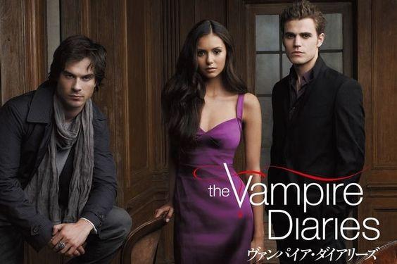 ニーナ・ドブレフ主演のThe Vampire Diaries!シーズン5が日本で公開♪