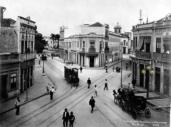 Avenida Men de Sá, Rio de Janeiro  Augusto Malta 1908  Arquivo Geral da Cidade do Rio de Janeiro