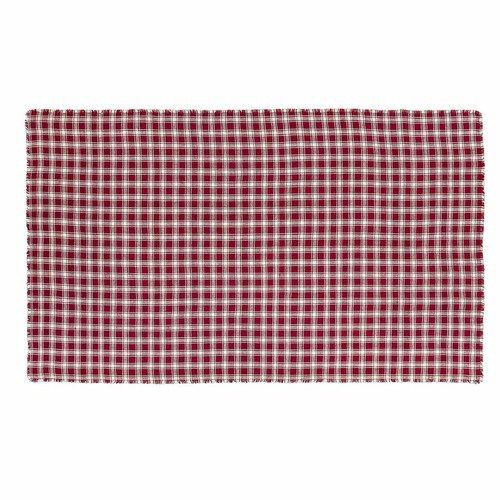Breckenridge Burlap Plaid Table Cloth 60x102