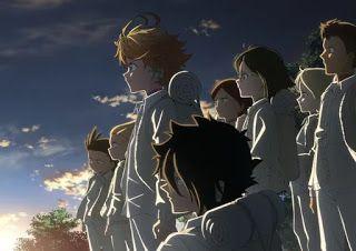 موعد عرض الموسم الثاني من انمي نيفرلاند الموعودة The Promised Neverland Anime Neverland Art Anime Wallpaper