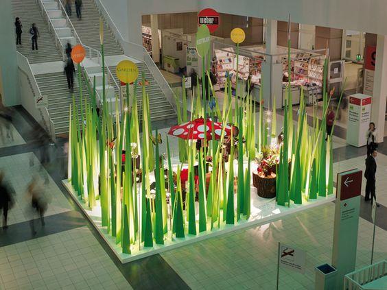 surrealistic grass scenery | garden vision by D'art Design Gruppe , via Behance