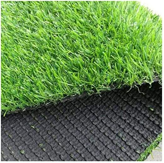 Artificial Grass Turf Height Realistic With Drainage Holes Indoor Outdoor Pet Faux Grass Rug Carpet For Dogs Garden Back Faux Grass Artificial Grass Grass Rug
