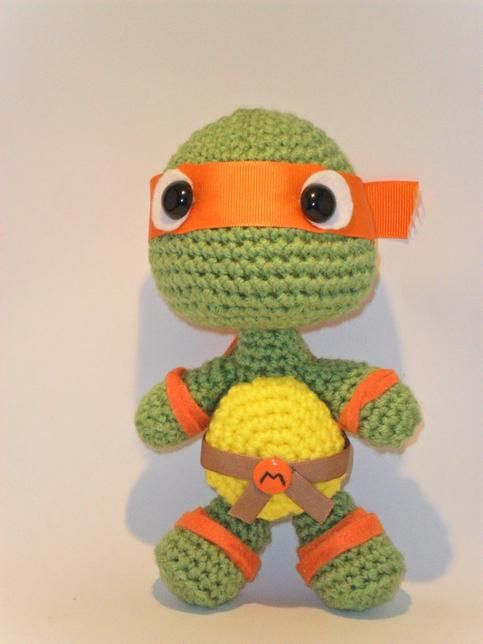 Amigurumi Ninja Turtle : Pinterest The world s catalog of ideas