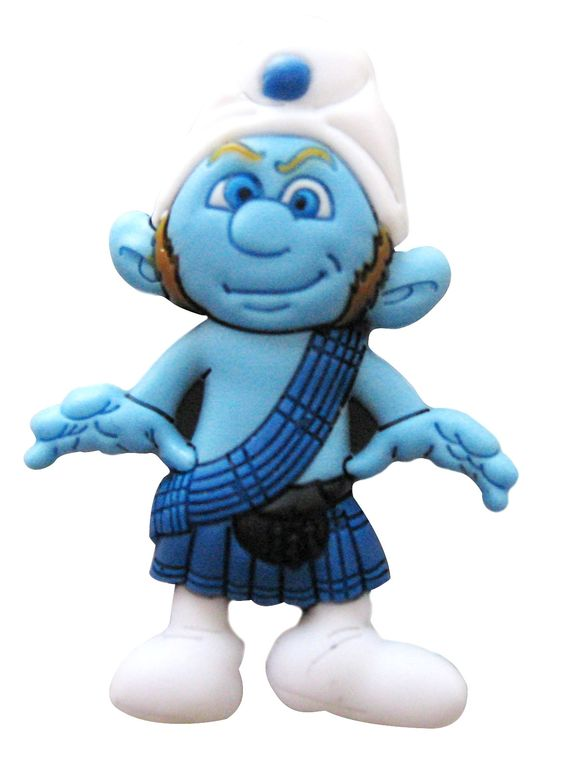 112 Jibbitz Smurfs Gutsy Smurf  3000011-01457-0001