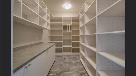 Pantry, from Aprils house