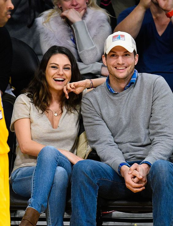 Ashton Kutcher and Mila Kunis met when she was only 15.