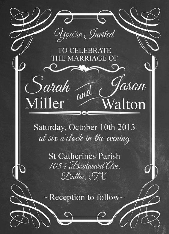 Invitation Formats Billie O'brien Billie0334 On Pinterest