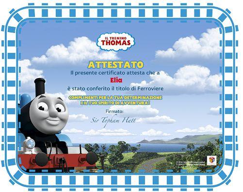 Attestato di piccolo Ferroviere gratis per i più piccoli - http://www.omaggiomania.com/bambini/attestato-piccolo-ferroviere-gratis-per-i-piccoli/