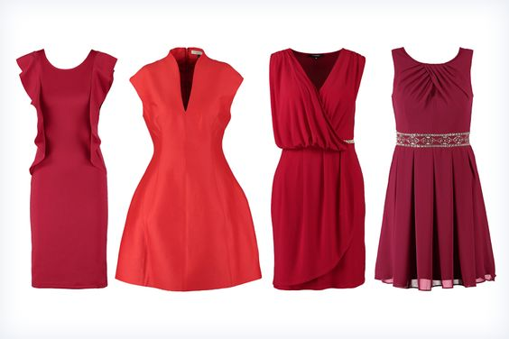 Modne czerwone sukienki na studniówkę