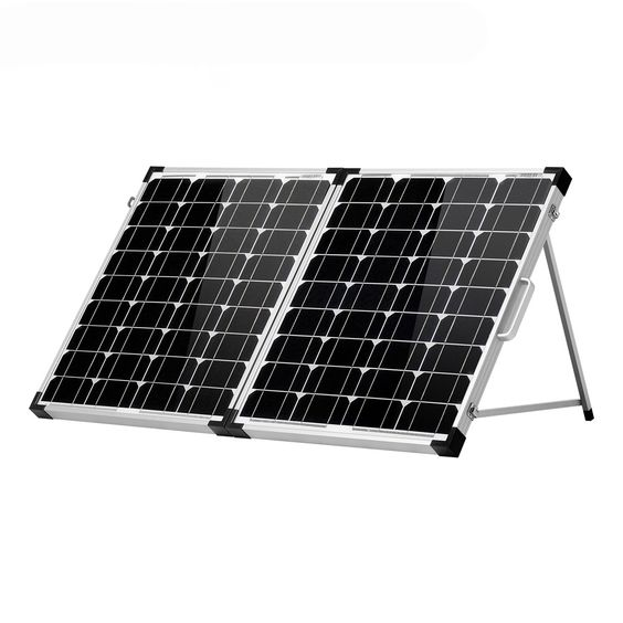 100w Foldable Solar Panel Charger In 2020 Solar Panel Charger Solar Panels Monocrystalline Solar Panels