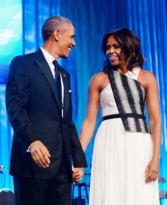 El Presidente Obama y sus halagos a las 'curvas' de su esposa Michelle