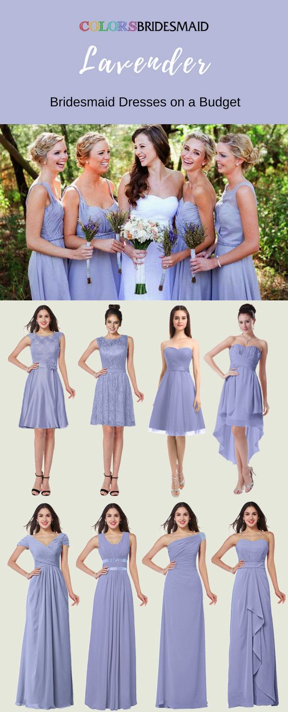 Looking For Amazing Lavender Bridesmaid Dresses Lilac