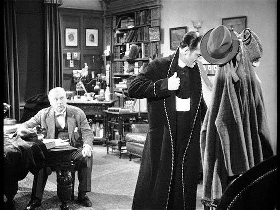 Basil Rathbone and Nigel Bruce