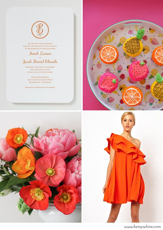 Tooty Fruity Bridal Shower Inspiration: