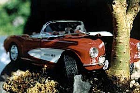 Crash-Bonsai, auténticos bonsais con coches a escala estrellados