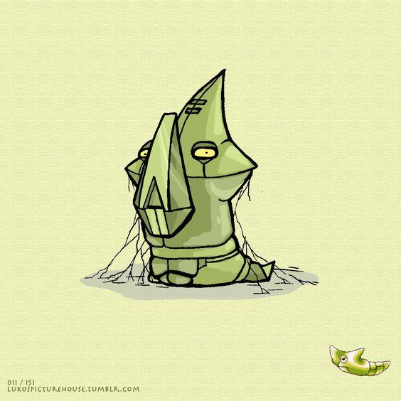 Pokemon Project - Metapod  011/151 Luke Schuler