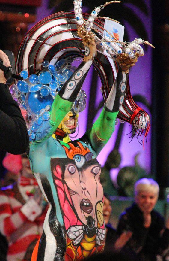 All sizes | Concurso de Maquillaje Corporal 2015 Carnaval Las Palmas de Gran Canaria | Flickr - Photo Sharing!