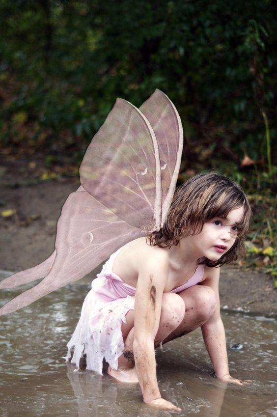 [フリー画像素材] 人物, 子供, 少女 / 女の子, 妖精 / フェアリー, 外国の子供 ID:201308181800