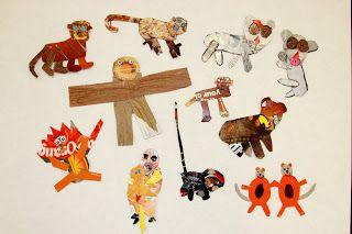 Briargrove Elementary Art Page: Cardboard Animal Creations
