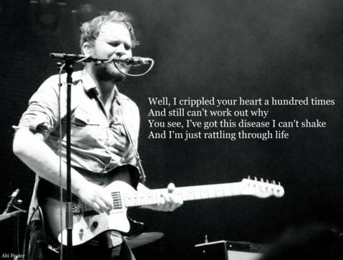 Frightened Rabbit...Beautiful lyrics I can't stop playing