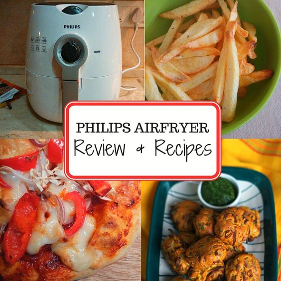 The most detailed review of the Philips Airfryer that has helped tons of people make up their mind about this one! Also find a few sample Airfryer Recipes here.