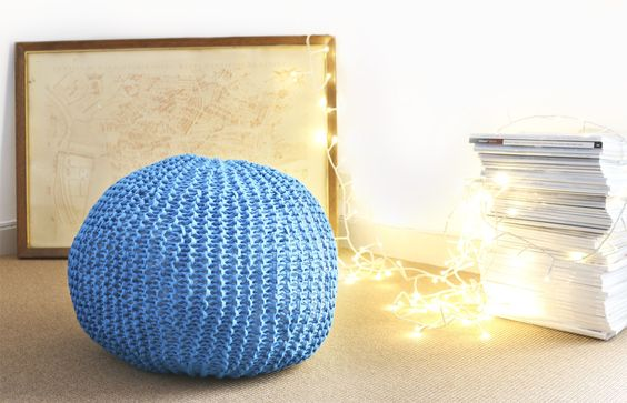 Blackjack Pouf - Buy Wool, Needles & Yarn Decoración - Buy Wool, Needles & Yarn Kits de tejer | WE ARE KNITTERS