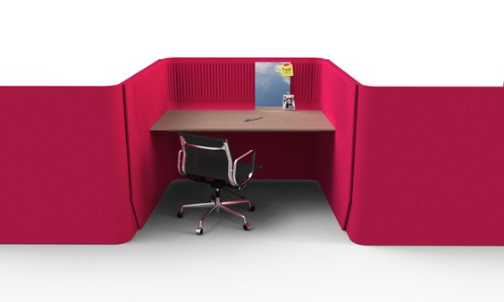 Designed by Alain Gilles, BuzziBooth Targa is a addition to the family of #BuzziBooth. It allows you to work together and alone. Photo: BuzziSpace.