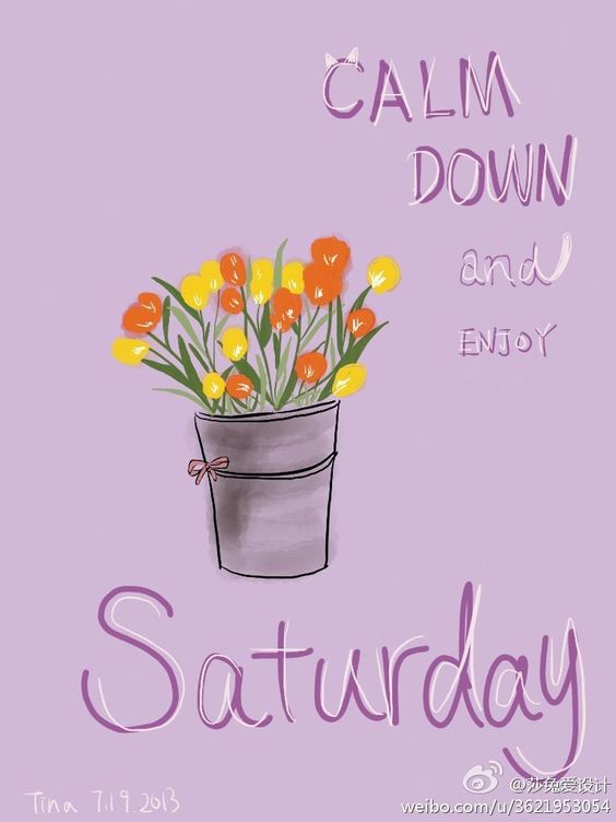 #my little trial# keep calm and it's saturday 768×1,024 pixels: