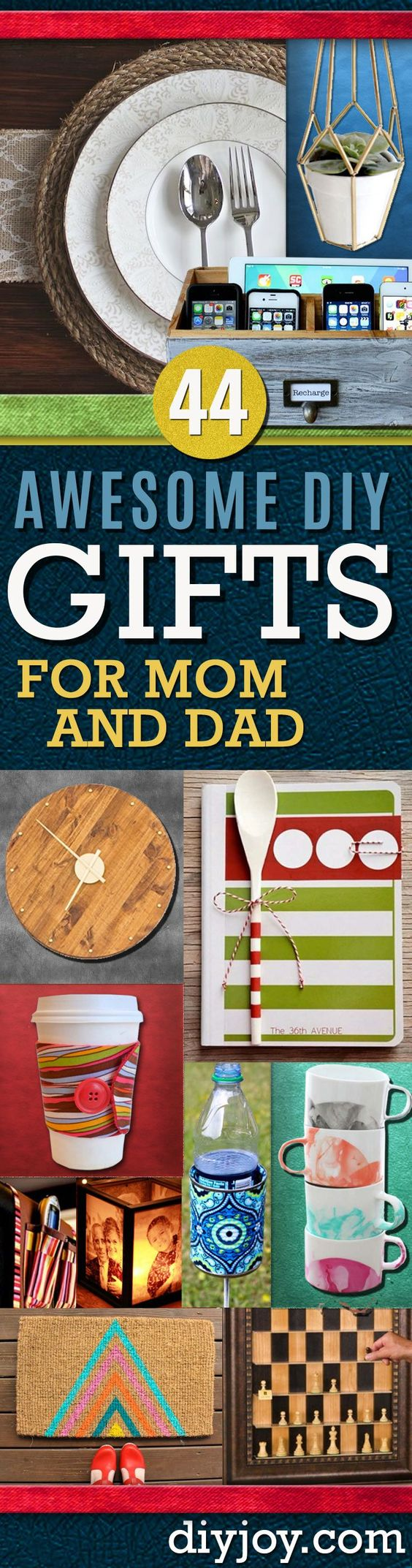Homemade christmas gift ideas and mom on pinterest for Diy presents for parents